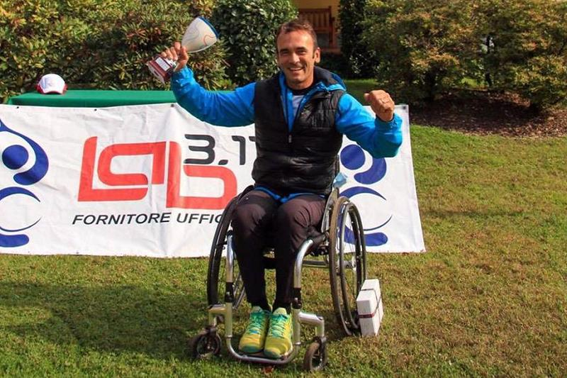 Open wheelchair Gallarate Alessandro Cianfoni